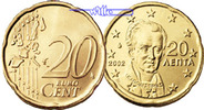 20 Cent 2006 Griechenland Kursmünze, 20 Cent stgl  4,80 EUR  +  7,00 EUR shipping