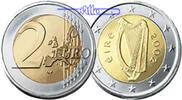 2 Euro 2003 Irland Kursmünze, 2 Euro stgl  11.15 US$ 9,90 EUR  +  12.39 US$ shipping