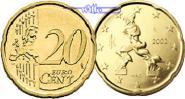 20 Cent 2013 Italien Kursmünze, 20 Cent stgl  6.66 US$ 6,00 EUR