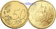 50 Cent 2013 Italien Kursmünze,  50 Cent stgl  7,00 EUR  +  7,00 EUR shipping