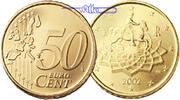50 Cent 2003 Italien Kursmünze,  50 Cent stgl  4,00 EUR  +  7,00 EUR shipping