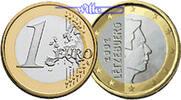 1 Euro 2007 Luxemburg Kursmünze, 1 Euro stgl  11.00 US$ 9,90 EUR  +  12.22 US$ shipping