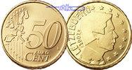 50 Cent 2002 Luxemburg Kursmünze, 50 Cent stgl  4,90 EUR  +  7,00 EUR shipping