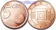 5 Cent 2008 Malta Kursmünze, 5 Cent stgl  1,00 EUR  +  7,00 EUR shipping