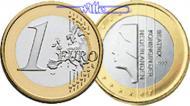 1 Euro 2008 Niederlande Kursmünze, 1 Euro * stgl  19.43 US$ 17,50 EUR
