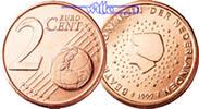 2 Cent 2000 Niederlande Kursmünze, 2 Cent stgl  183 руб 2,50 EUR  +  805 руб shipping