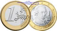 1 Euro 2008 Österreich Kursmünze, 1 Euro * stgl  8,50 EUR  +  7,00 EUR shipping