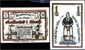 1 Mark  1921.01.27 Delbrück Westfalen Stadt 27.1.1921, Wz Ovalmuster I-  5,00 EUR  +  7,00 EUR shipping
