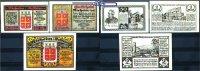 50 Pf. 1, 2 Mark  1921 Nieheim Westfalen Vorschußverein 19.11.1921 - 1.... 24,80 EUR  +  7,00 EUR shipping