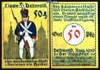 50  Pfg.  1920.08 Detmold, Lippe Bauwerke und Soldatenserien, versch. F... 1,00 EUR  +  7,00 EUR shipping