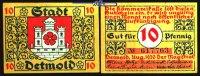 10  Pfg.  1920.08 Detmold, Lippe Bauwerke und Soldatenserien, versch. F... 1,20 EUR  zzgl. 3,95 EUR Versand