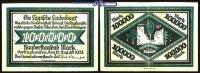 Hundertausend Mark  1923.08.12 Lippe Schecks auf die Lippische Landesba... 70,00 EUR  +  17,00 EUR shipping