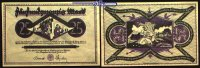 25 Mark  1922.10.10 Dortmund u. Hörde Städte u. Kreise, violett Topp 21... 3,00 EUR  excl. 7,00 EUR verzending