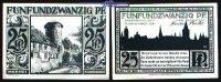 25 Pfg  1921.11.10 Paderborn, Stadt, 7.Ausgabe Schattenrisse, Serie B, ... 1,00 EUR  +  7,00 EUR shipping