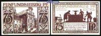 75 Pf.  1921.11.10 Paderborn, Kreisstadt, 8.Ausgabe Schattenrisse, Seri... 1,00 EUR  + 7,00 EUR frais d'envoi