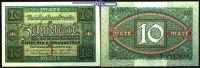 10 Mark 1920 6,02 Deutsches Reich Inflation, Reichsbanknote, Ro.63a, I-  3.33 US$ 3,00 EUR