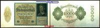 10 000 Mark 1920 19,01 Deutsches Reich Inflation, Reichsbanknote, Ro.69... 3,00 EUR  +  7,00 EUR shipping