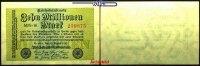 10 Millionen Mark 1923 22,08 Deutsches Reich Inflation, Reichsbanknote,... 3,00 EUR  + 7,00 EUR frais d'envoi