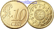 Portugal 10 Cent 2002  stgl Kursmünze, 10 Cent 162 руб