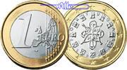 1 Euro 2003 Portugal Kursmünze, 1 Euro stgl  3,50 EUR  +  7,00 EUR shipping