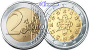 2 Euro 2006 Portugal Kursmünze, 2 Euro stgl  9,00 EUR  +  7,00 EUR shipping