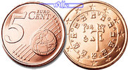 5 Cent 2008 Portugal Kursmünze, 5 Cent * stgl  9,90 EUR  Excl. 7,00 EUR Verzending