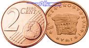 2 Cent 2007 Slowenien Kursmünze, 2 Cent stgl  73 руб 1,00 EUR  +  805 руб shipping