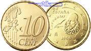 10 Cent 2003 Spanien Kursmünze, 10 Cent stgl  2,20 EUR  + 7,00 EUR frais d'envoi