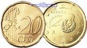 20 Cent 2001 Spanien Kursmünze, 20 Cent stgl  4,90 EUR