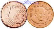 1 Cent 2011 Vatikan Kursmünze, 1 Cent stgl  35,00 EUR  +  17,00 EUR shipping