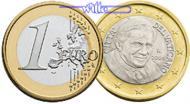 1 Euro 2011 Vatikan Kursmünze, 1 Euro stgl  2583 руб 35,00 EUR  +  2583 руб shipping
