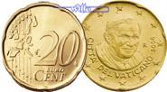 20 Cent 2006 Vatikan Kursmünze, 20 Cent stgl  95,00 EUR  +  17,00 EUR shipping