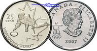 25 Cent 2007 Vancouver Oly Winter Vancouver 2010 Curling (Eisstockschie... 2,50 EUR  zzgl. 3,95 EUR Versand