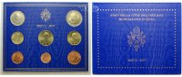 3.88 2007 Vatikan Kursmünzen, kompl. Satz 2007 * stgl im Blister  109,00 EUR  +  17,00 EUR shipping