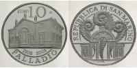 10 Euro 2008 San Marino Andrea Palladio PP  48,00 EUR  +  17,00 EUR shipping