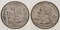 1/4 $ 2003 D USA Alabama D - Kupfer-Nickel - vz  5,00 EUR  +  7,00 EUR shipping
