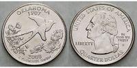 1/4 $ 2008 D USA Oklahoma D - Kupfer-Nickel - vz  4,00 EUR  +  7,00 EUR shipping
