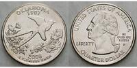 1/4 $ 2008 P USA Oklahoma P - Kupfer-Nickel - vz  4,00 EUR  excl. 7,00 EUR verzending