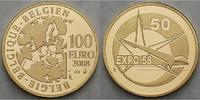 100 Euro15,54g fein29 mm Ø 2008 Belgien 50.Geburtstag Expo / Besonderhe... 62900 руб 850,00 EUR  +  3108 руб shipping