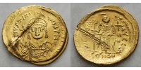Byzanz  IVSTINIAN SOLIDUS 527-565 v.Chr. Gold 4,30 g