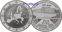 1 1/2 Euro 2008 Frankreich Europäisches Parlament inkl. Etui & Zertifik... 64,50 EUR  +  17,00 EUR shipping