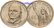 USA 1 $ 2008 P vz John Quincy Adams 2008 Philadelphia / Kupfer-Nickel / ... 162 руб