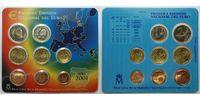 3,88 2001 Spanien Kursmünzensatz stglimBlister  29,00 EUR  +  17,00 EUR shipping