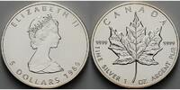 Kanada 5 $ Maple Leaf,  Archivbild