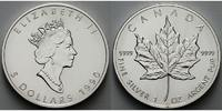 Kanada 5 $ Maple Leaf