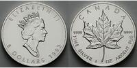 Kanada 5 $ 1992 stgl Maple Leaf