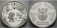2 Rand 2009 Süd-Afrika Fußball Weltmeisterschaft 2010 in Südafrika, ink... 5905 руб 79,80 EUR  +  2590 руб shipping