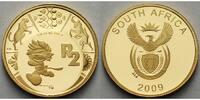 1/4 oz.7,78gfein2 Rand22 mm Ø 2009 Süd-Afrika Fußball Weltmeisterschaft... 498,00 EUR  +  17,00 EUR shipping