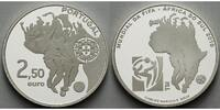 Portugal 2,5 Euro 2010 <b>PP</b> Fuball W...