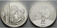 10 Euro 2010 Frankreich Mutter Teresa mit Papst Joh. Paul II., inkl. Et... 39,80 EUR  +  17,00 EUR shipping